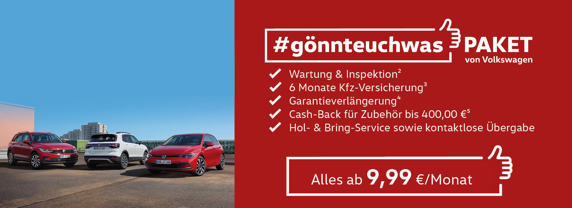 VW #gönnteuchwas-Paket