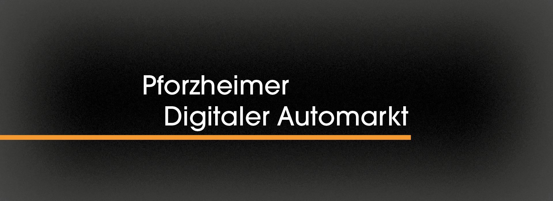 Pforzheimer Digitaler Automarkt