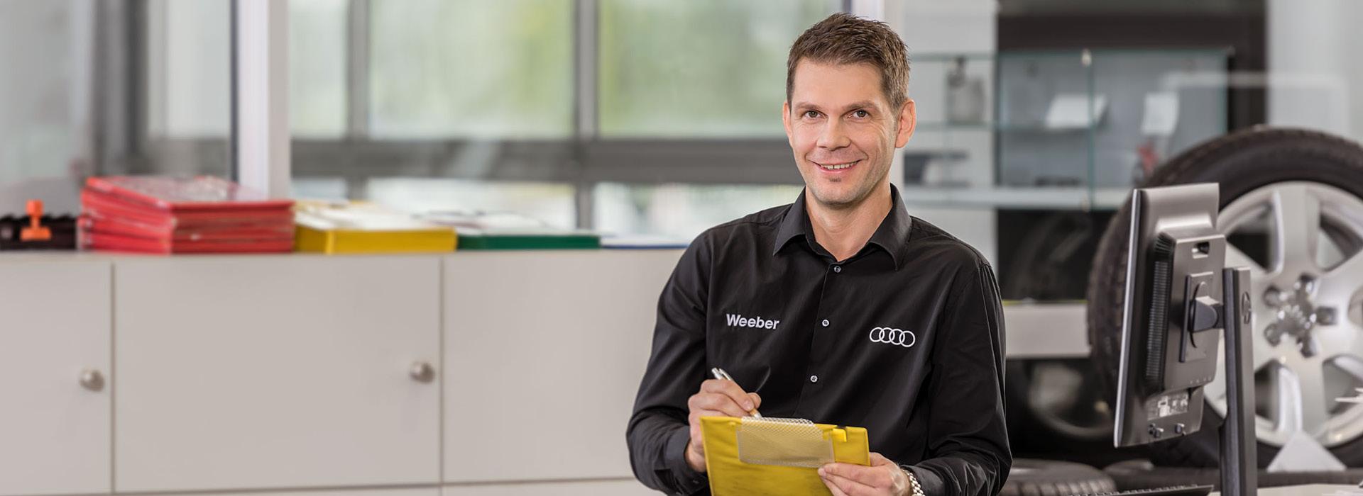 Service bei Autohaus Weeber