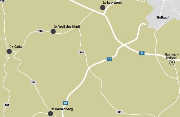 Unsere Standorte