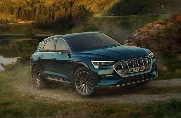 Audi e-tron 50 quattro - Geschäftsleasing