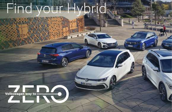 Volkswagen Hybrid-Kampagne