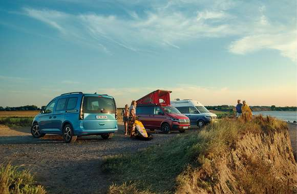 VW California Familie