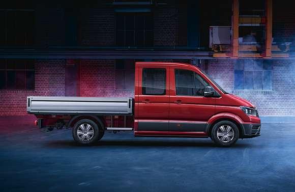 VW Crafter 3-Seitenkipper - Geschäftsleasing