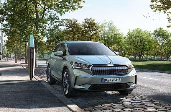 ŠKODA ENYAQ iV 50 55 kWh Batterie (Elektro) 109 kW (148 PS) - Geschäftsleasing