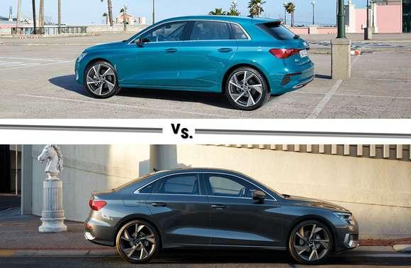 Audi A3 Sportback vs. A3 Limousine