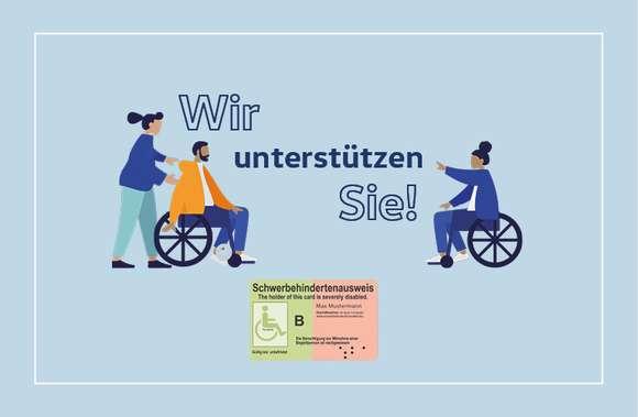 Menschen mit Handicap Angebote