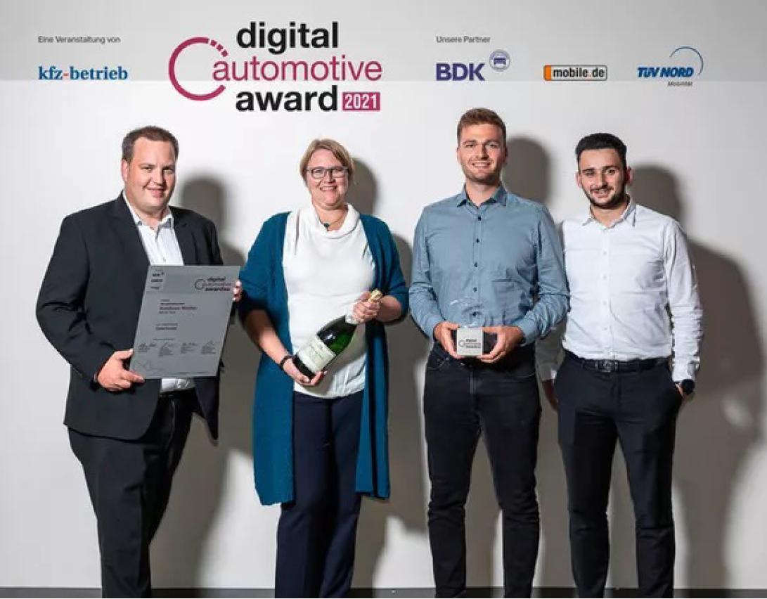 Digital Automotive Award 2021